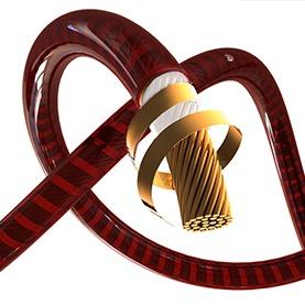 螺旋構造のケーブルデザインが秘める、圧倒的な音質向上 イメージ