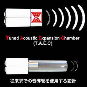 Tuned Acoustic Expansion Chamber (T.A.E.C) イメージ
